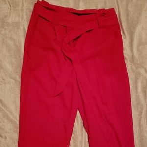 Express red dress slacks